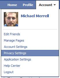 Facebook Account Privacy Settings